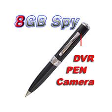 venta al por mayor 8gb usb pluma con la cámara de vídeo espía + cámara web