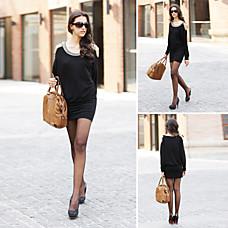 venta al por mayor cuentas cuello mangas murciélago blusa / blusas de las mujeres (ss-d-cc1252001)