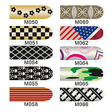 16pcs nail art folie armor wraps patc...