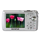 Olympus U760 7.1-MP Digital Camera 3x Optical Zoom/Silver (2GB SD Card +More)-Free Shipping