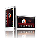 4 GB 3,0 16:9 LCD widescreen touch pulsante opposti v5i MP4 / MP3 player