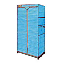 Durable Foldaway Non-woven Storage Wardrobe (JAJU008)(Start From 10 Units)-Free Shipping