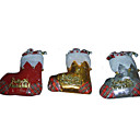 Santa Christmas Ornament Shoes (GJ016) (Start From 30 Units)-Free Shipping