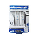 Rechargeable Dock/Stand/Station for Wii Remote and Nunchuk + Two Rechargeable Batteries (2800mAh)