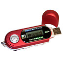 usb stile lettore mp3 con schermo LCD (1gb, rosso)