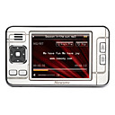 Newsmy 2gb de 2,8 polegadas player MP4 / MP3 com sintonizador FM + r90