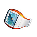 Q007 Watch Cell Phone With Bluetooth & Camera - White with Orange SZR010