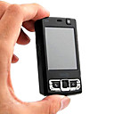 Unlocked Dual webcam MINI N95 FM  Cell Phone Black  (Not For U.S/Canada)