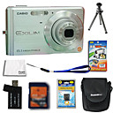 Casio EXILIM EX-Z8 8.1MP Digital Camera + 2GB SD Card + Extra Battery + 6 Bonus