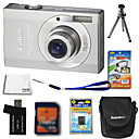 canon powershot ixus 90 / SD790 IS 10MP + carto da cmera digital sd 4gb + bateria extra + 6 bnus