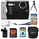 Olympus Mju 850 SW 8.5MP Digital Camera + 1GB xD Card + Extra Battery + 6 Bonus