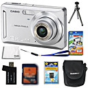 Casio EXILIM EX-Z9 8.3MP Digital Camera + 2GB SD Card + Extra Battery + 6 Bonus