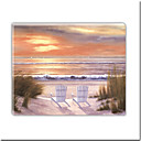 Handmade Oil Painting with Stretched Bar - Paradise Sunset 16&quot; x 20&quot; (SZH265) Free shipping