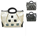 Breathtaking Patent Leather Tote Shoulder Bag with Cloth Lining M602 (WYBB039)