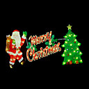 Double Faced Mesh Silhouette Merry Christmas Light (SDQ366)