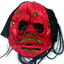 Scary Latex Halloween Mask with Hair For Adult (SZWS012)