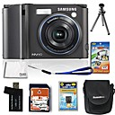 Samsung Digimax NV40 (NV103) 10.5MP Digital Camera with 2.5-inch LCD+4GB SD+Battery+6 Bonus (SZW631)