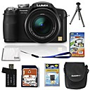 Panasonic Lumix DMC-fz28 10.7mp avec appareil photo numrique 2,7-pouces lcd 8 gb sd + batterie 6 bo