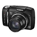 Canon Powershot SX110 IS 9.0MP Digital Camera with 3.0-inch LCD (SZW554)