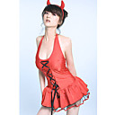 Sexy Red Uniform Set Babydoll Lingerie 4057