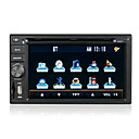 6.2-inch Touch Screen 2 Din In-Dash Car DVD Player TV and Bluetooth Function DT-6201