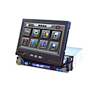 7-inch Touch Screen 1 Din In-Dash Car DVD Player TV and Bluetooth Function Ipod Port Detachable Pane