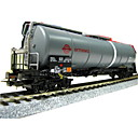 HO Scale Train Model--Ermewa tank wagon