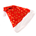 Deluxe Fashionable Snowflake Decorated Christmas Santa Hat (SDQ260)