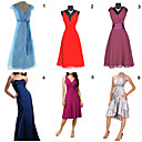 Unique and Fashionable Dresses for Wedding / Party  6 Pieces Per Package  (HSQC033)