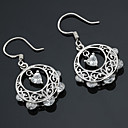 Sterling Silver Stylish CZ Earring-Sterling Silver Earring e22647(SZY1438)
