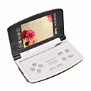 8 GB 3.6-inch Folding Panel MP3/ MP5 Game DV DC Players Black(SZM163)