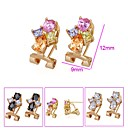Fashion Beautiful CZ Earring Clip- CZ Earring 90226-06(SZY1555) 20pcs/lot
