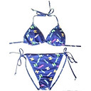 Hot Popular Two Piece Bikini Swimwear Swimsuit, Size M, L, XL (AMS001)