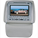 7-inch Headrest DVD Player with zip&amp; USB - SD Card Reader-Game Funtion