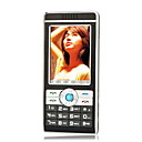 ZTC F168 Dual Card Touch Screen Ultra-Thin Cell Phone Black(Not For U.S/Canada)