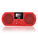 2GB OLED Display MP3 Player Digital Speaker Red (CT-2GB)
