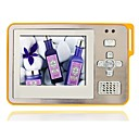 4GB 2.4 Inch MP5/MP3 Player With Clip Out Speaker Digital Camera Silver/Yellow(MXQ035)