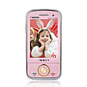 6288 Dual Card Touch Screen Cell  Phone Pink