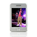 4gb 2,8 polegadas touch case de metal da tela MP4/MP3 Player (shb003)