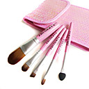 5Pcs Mini Cosmetic Brush Set