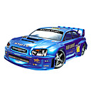 1:7 Scale Nitro Subaru Red STI RC Car 21 Racing Engine 4WD 2 Speed Gearbox (YX00569-2)