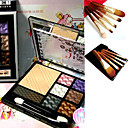 Free Professional Cosmetic Brush Set + Perfection Powder Box Palette