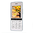 MFU-V200 Dual-Karte Quad-Band Handy Silber &amp; white (szr738)