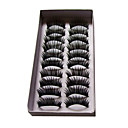Longer, Darker Version and Curved Lashes 1028# - 10 Pairs Per Box