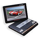 7-inch Portable DVD Player avec la fonction TV, port USB, 3-en-1 lecteur de cartes et jeux (smq2447)