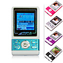 4GB 1.5-inch MP3 / MP4 Players With FM Function / Five Colors / Five Pieces Per Package(SZM092)