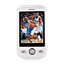 G2-TV Dual Card Quad Band TV Function Touch Screen Cell Phone White (SZ00720010)