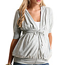 Zip Through Maternity Hoodie (09YX037)