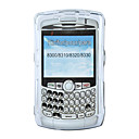 Smooth Surface Crystal Case For Blackberry 8300 (SZM590)