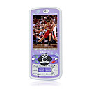 ZTC 6188 Dual Card Bluetooth Touch Screen FM Cell Phone Purple (2GB TF Card)